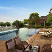都市千万豪宅别墅游泳池装修设计图