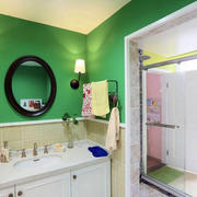 浴室洗手台展示