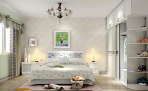 韩式风格20平米卧室装修设计效果图