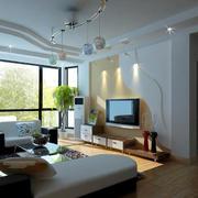 客厅个性电视背景墙