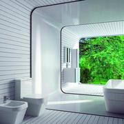 都市现代化浴室展示