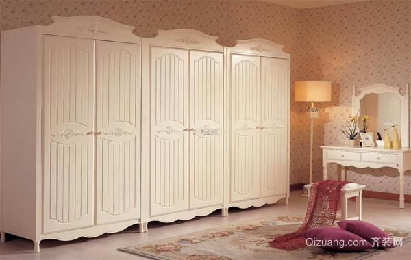 2016全新时尚卧室欧式衣柜设计装修图