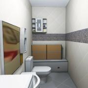 欧式40平米小户型卫生间装修效果图鉴赏