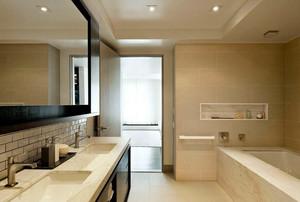 现代简约6平米小浴室装修效果图