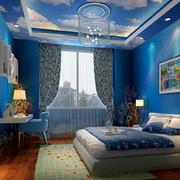 卧室梦幻吊顶展示