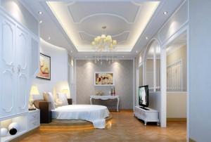 前卫单身公寓卧室榻榻米设计装修效果图