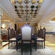 唯美的餐厅桌椅设计