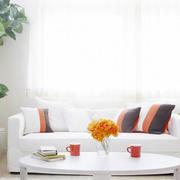 客厅白色小沙发欣赏