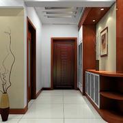 时尚两居室新中式玄关设计装修效果图