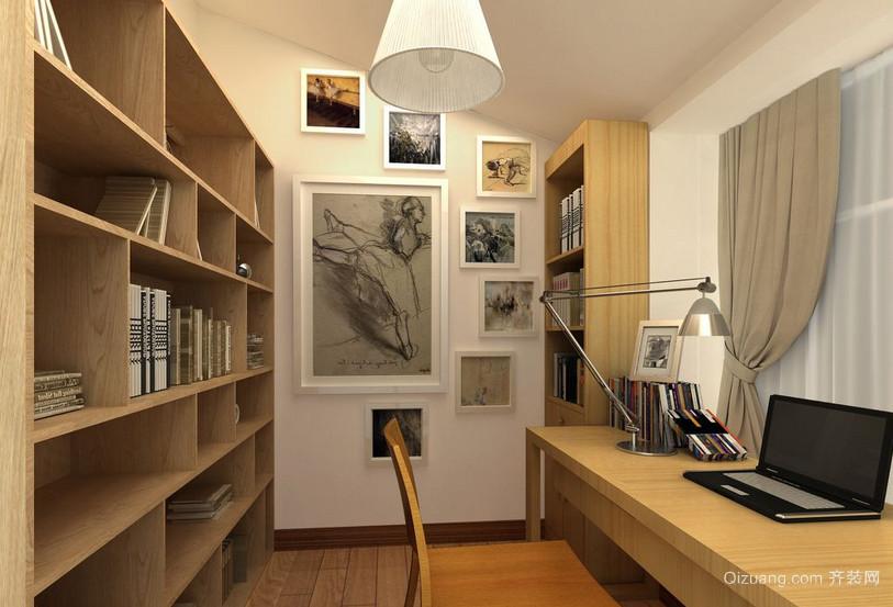 2016三居室精美的书房装修效果图实例