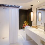 小户型经典实惠的欧式卫生间装修效果图欣赏