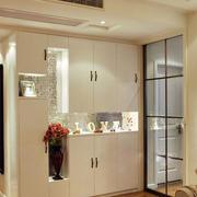 简约风格80平米家居玄关设计装修效果图