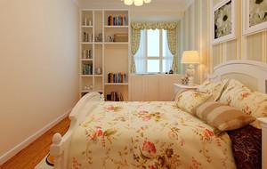 温馨小卧室碎花被子