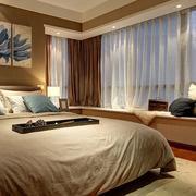都市现代卧室图片