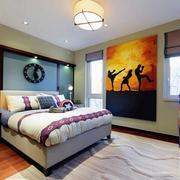 卧室艺术装饰画欣赏