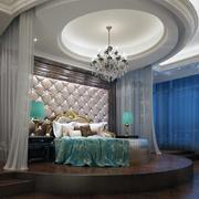 唯美的卧室吊顶设计图