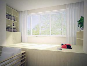 2016精致的大户型日式风格榻榻米书房装修效果图