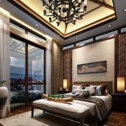 卧室大窗帘展示