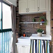 现代阳台背景墙设计