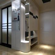 时髦宜家76平米小户型玄关设计装修图