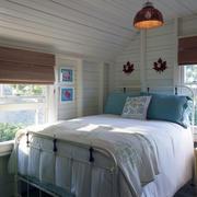 现代卧室背景墙造型图