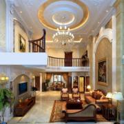 2016精致的欧式别墅型室内装修效果图大全