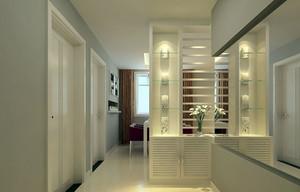 单身小公寓简约玄关设计装修效果图
