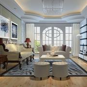 简欧式风格客厅