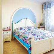 田园卧室床头设计