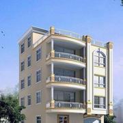 纯白色调房屋设计图