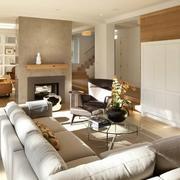 客厅舒适布艺沙发