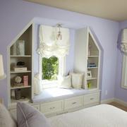 浅紫色浪漫卧室