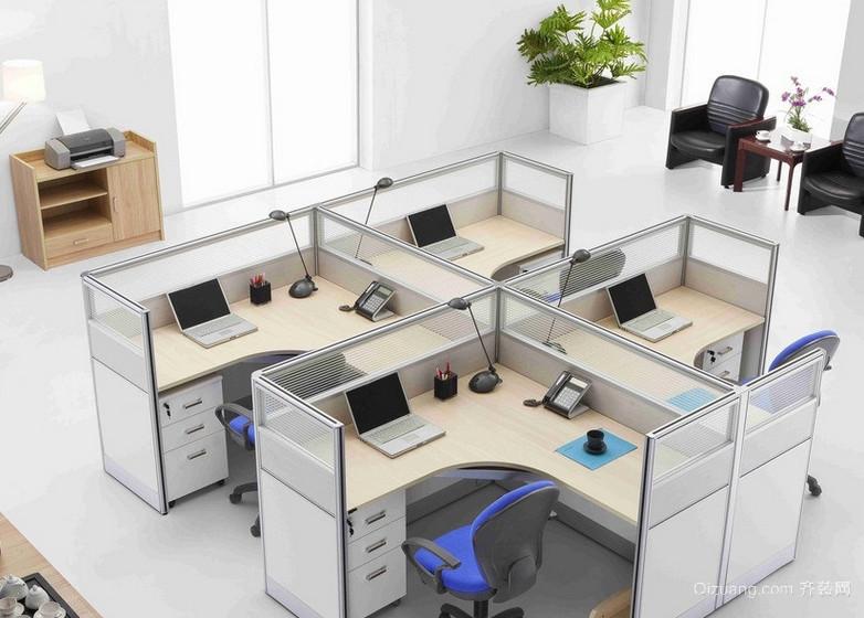 21世纪精美的办公室吊顶装修效果实景图