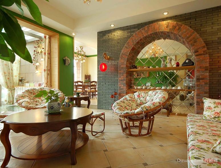 2016现代欧式小户型餐厅装修效果图实例
