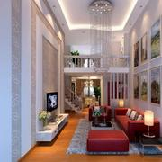 客厅精美水晶吊灯