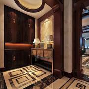 豪华古典鞋柜展示