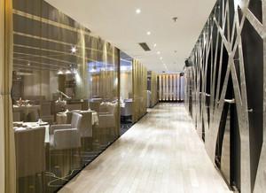 现代高级大饭店走廊装修装饰效果图
