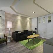 小户型客厅沙发背景墙展示