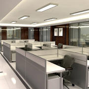 首都北京现代写字楼办公室装修效果图
