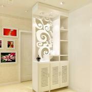 造型时尚的鞋柜