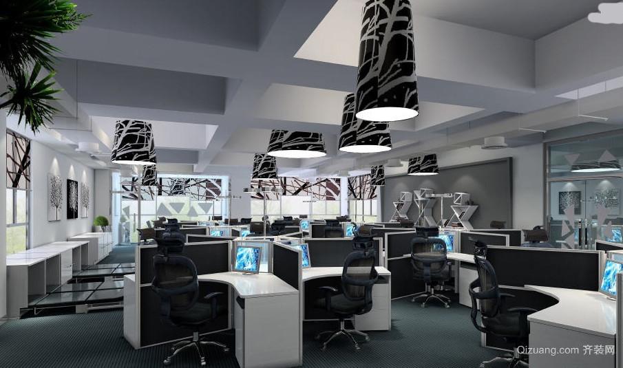 时尚都市化北京写字楼办公室装修效果图