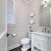现代卫生间壁纸设计