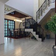唯美的室内楼梯设计