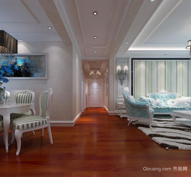 精美的现代欧式大户型走廊吊顶装修效果图