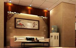现代背景墙造型图