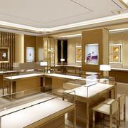 2016大户型品牌珠宝店展示柜图片