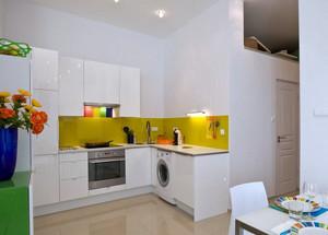 60平米小户型都市整体厨房装修效果图