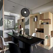 家装个性实木置物柜