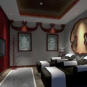 精致的室内背景墙图