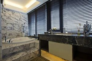 简约地中海风格家装102平米样板房效果图